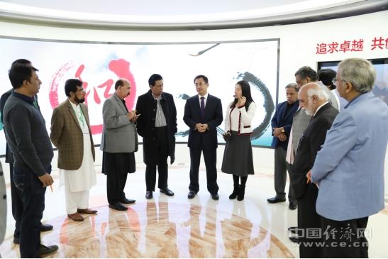 中国经济网承接巴基斯坦主流媒体记者团访华活动